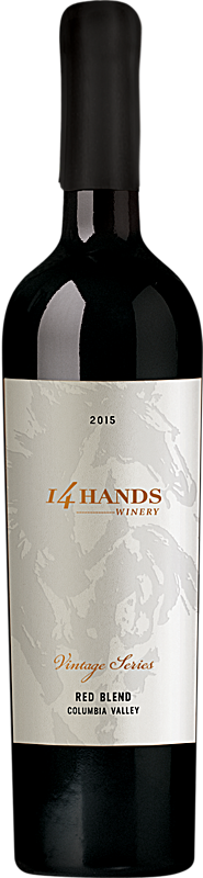 14 Hands 2015 Vintage Series Red Wine Blend Label 1 Columbia Valley