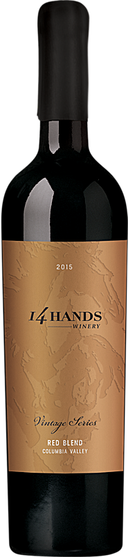 14 Hands 2015 Vintage Series Red Wine Blend Label 2 Columbia Valley