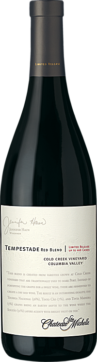 Chateau Ste. Michelle 2015 Limited Release Tempestade Columbia Valley