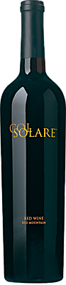 Col Solare Red Wine Bottle
