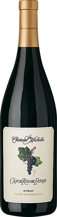 Chateau Ste. Michelle Winery Canoe Ridge Estate Syrah Bottle