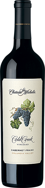 Chateau Ste. Michelle Cold Creek Vineyard Cabernet Franc Bottle