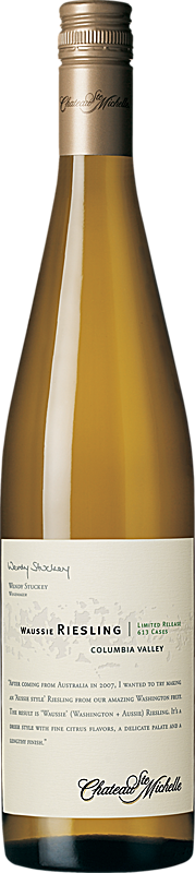 Chateau Ste. Michelle Waussie Riesling Limited Release Bottle