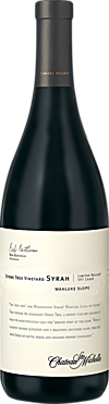 Chateau Ste. Michelle Stone Tree Vineyard Syrah Limited Release Bottle