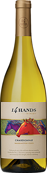 14 Hands 2013 Chardonnay Washington State