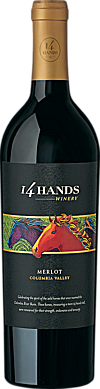 14 Hands 2015 Merlot Columbia Valley