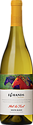 "14 Hands 2016 ""Hot to Trot"" White Wine Blend Washington State"