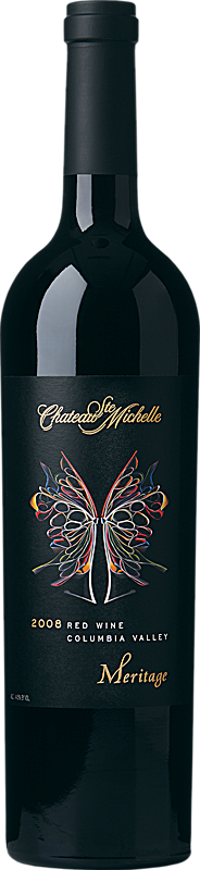 Chateau Ste. Michelle Artist Series Meritage Bottle