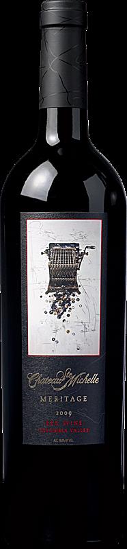 Chateau Ste. Michelle Artist Series Meritage Bottle
