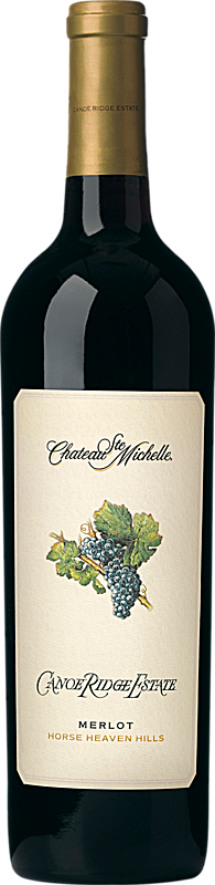 Chateau Ste. Michelle Canoe Ridge Estate Merlot Bottle