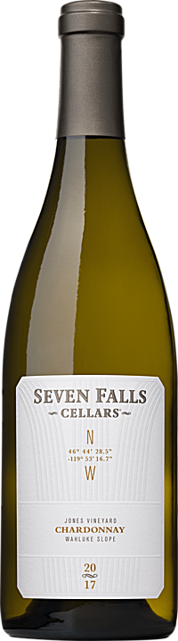 Seven Falls Cellars 2017 GPS Jones Vineyard Chardonnay Wahluke Slope