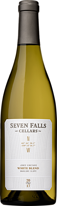 Seven Falls Cellars 2017 GPS White Wine Blend, Jones Vineyard Wahluke Slope