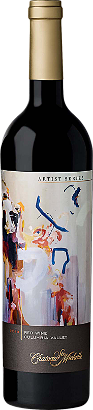 Chateau Ste. Michelle Artist Series Red Wine - Mathematical Equation Label Columbia Valley