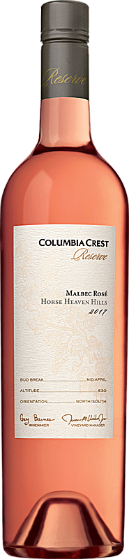 Columbia Crest 2017 Reserve Malbec Rosé Horse Heaven Hills Horse Heaven Hills Alternative Bottle Shot