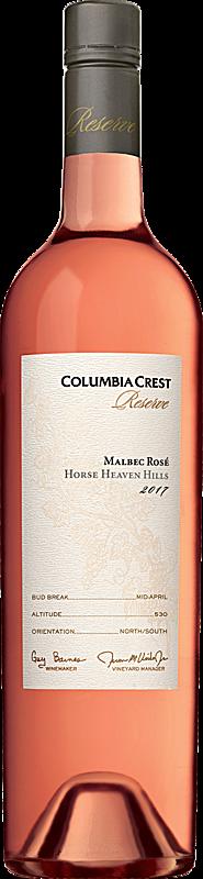 Columbia Crest 2017 Reserve Malbec Rosé Horse Heaven Hills Horse Heaven Hills
