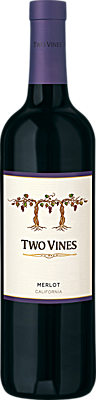 Two Vines Merlot California