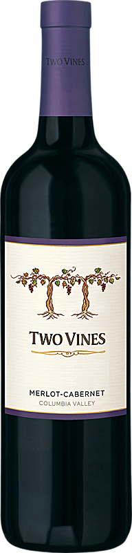 Two Vines Merlot-Cabernet Columbia Valley