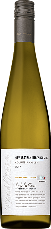 "Chateau Ste. Michelle 2017 Gewurztraminer and Pinot Gris ""Spicy Pig"" Blend  Columbia Valley"