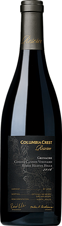 Columbia Crest 2016 Reserve Grenache Horse Heaven Hills Alternative Bottle Shot