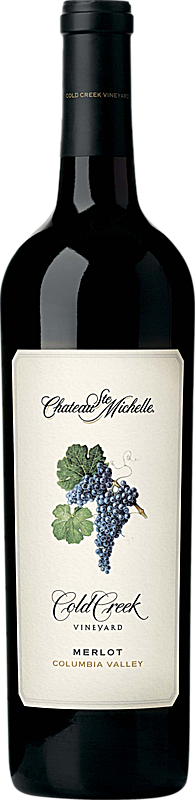 Chateau Ste. Michelle Cold Creek Merlot Bottle