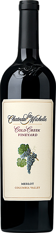 Chateau Ste. Michelle Cold Creek Vineyard Merlot Bottle