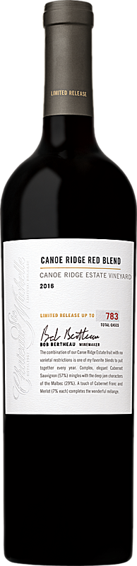 2016 Limited Release Canoe Ridge Estate Red Wine Blend