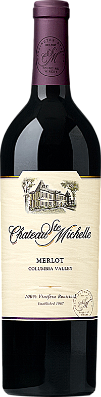 Chateau Ste. Michelle 2015 Merlot Columbia Valley