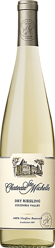 Chateau Ste. Michelle 2016 Dry Riesling Columbia Valley