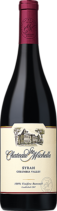 Chateau Ste. Michelle 2015 Syrah Columbia Valley