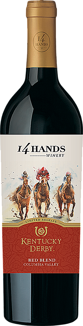 14 Hands 2015 Kentucky Derby® Limited Release Red Wine Blend Columbia Valley