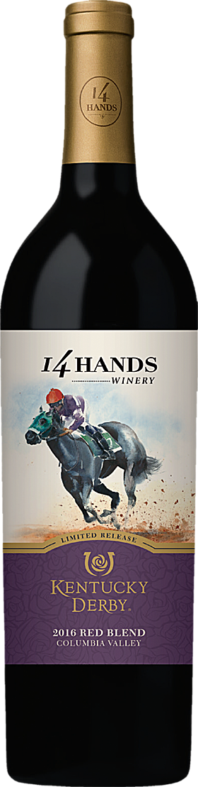 14 Hands Kentucky Derby® Limited Release Red Wine Blend Columbia Valley