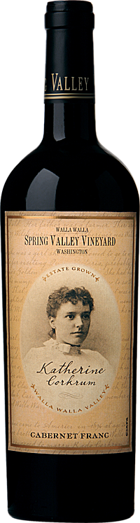 Spring Valley Vineyard 2011 Katherine Corkrum Cabernet Franc Walla Walla Valley