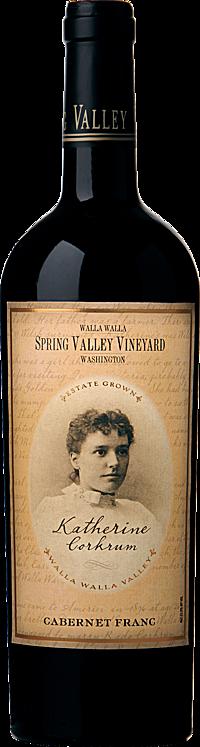 Spring Valley Vineyard 2008 Katherine Corkrum Cabernet Franc Walla Walla Valley