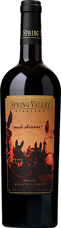 Spring Valley Vineyard Mule Skinner Merlot Walla Walla Valley