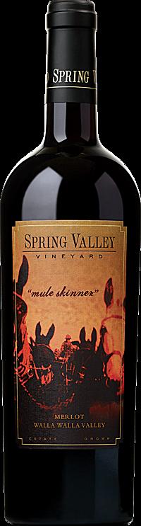 Spring Valley Vineyard Mule Skinner Merlot Walla Walla Valley
