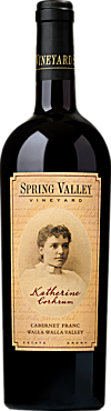 Spring Valley Vineyard Katherine Corkrum Cabernet Franc Walla Walla Valley