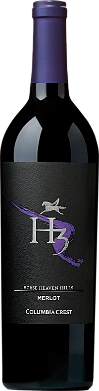 Columbia Crest H3 Merlot Horse Heaven Hills Alternative Bottle Shot