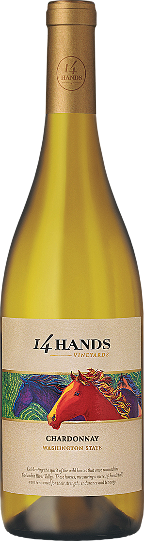 14 Hands Winery Chardonnay Bottle