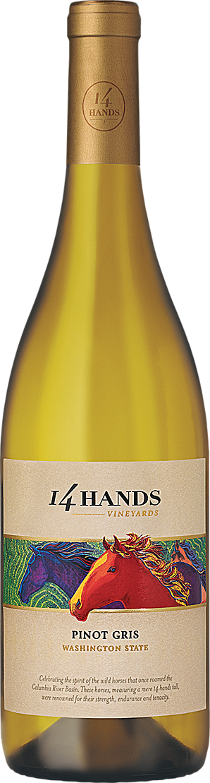 14 Hands Winery Pinot Gris Bottle