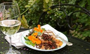 Grilled Ahi with Sundried Tomato-Basil Beurre Blanc