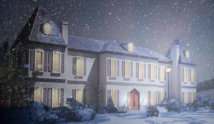Snowy Chateau