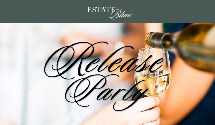 Estate Blanc Release Night logo