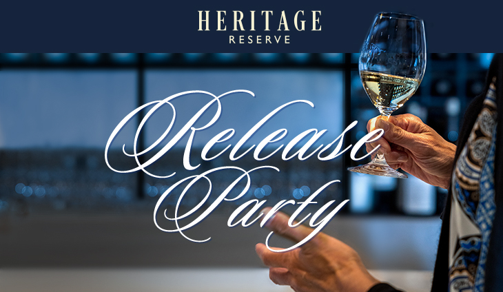 Heritage Reserve Release Party logo
