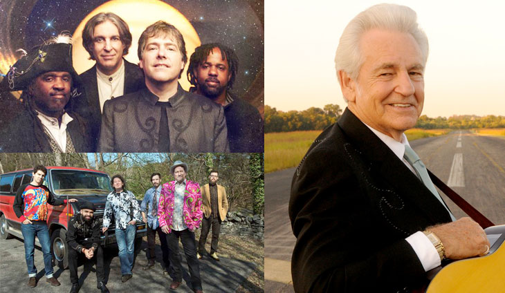 Del McCoury, The Flecktones, Jerry Douglas Band