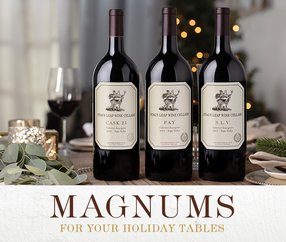 Magnums For Your Holiday Tables
