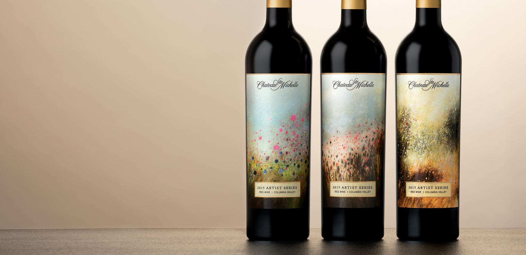 2015 Artist Series bottles