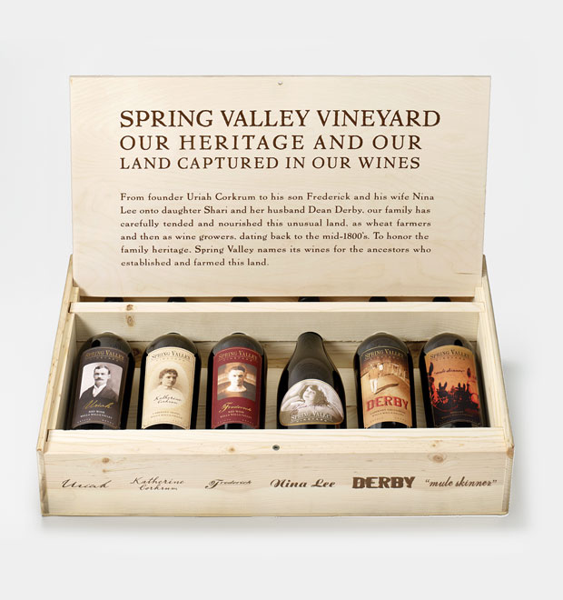 Spring Valley Vineyard Family Box