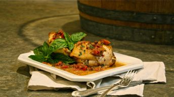 Chardonnay-Braised Chicken