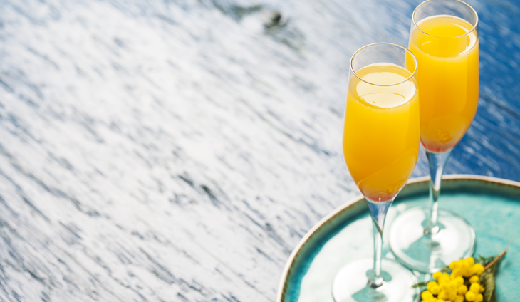 Two mimosas