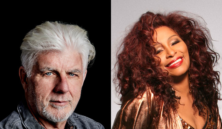 Michael McDonald and Chaka Khan